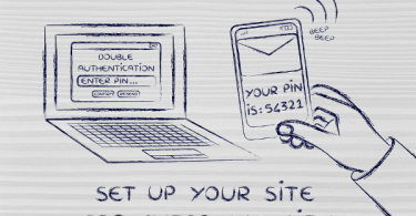Use 2 Step Authentication For Better Security